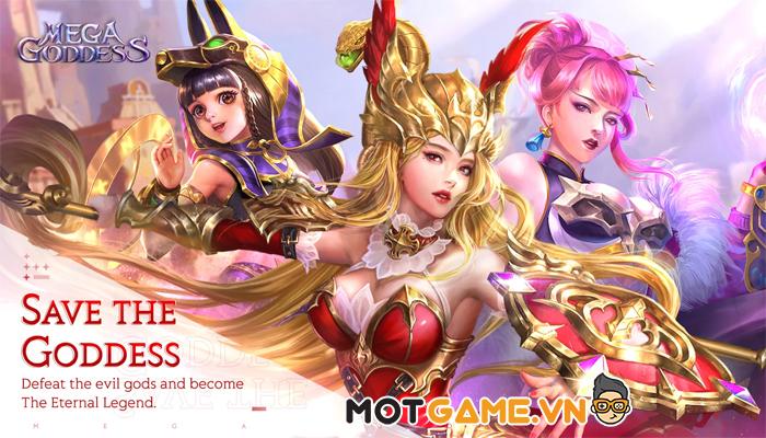 Mega Goddess – Tựa game chiến thuật 3D chiến đấu siêu thực