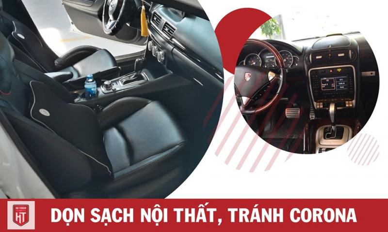 Top 6 Dịch vụ vệ sinh nội thất ô tô uy tín nhất tại Hà Nội