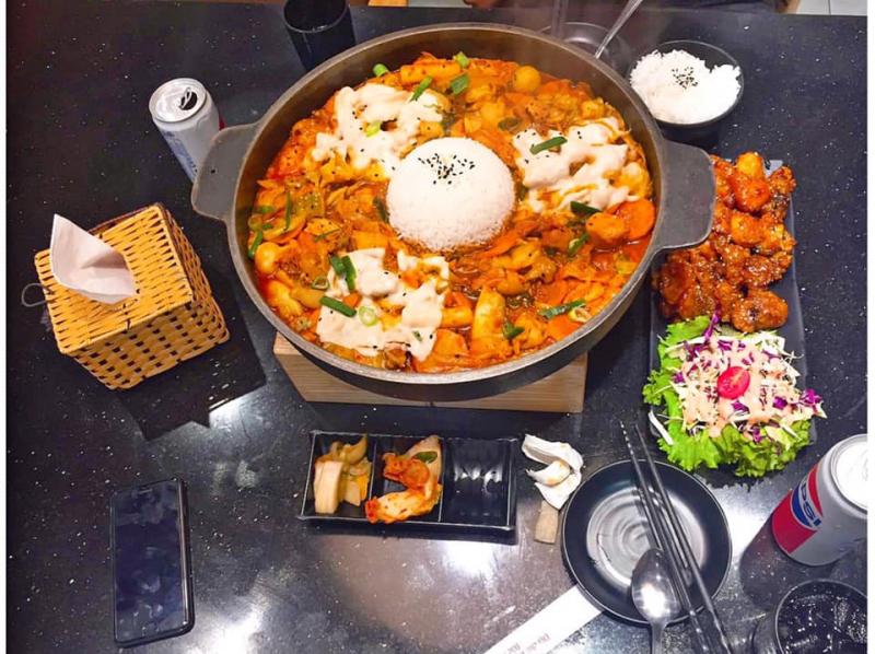 Top 7 Quán ăn Hàn Quốc được yêu thích nhất Huế