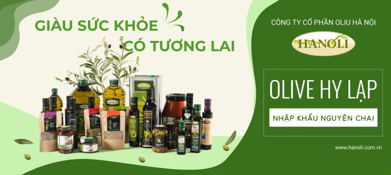 Top 6 địa chỉ mua dầu oliu tốt nhất Hà Nội