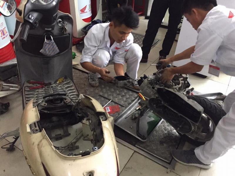 Top 7 Tiệm sửa xe máy uy tín nhất TP. Vinh, Nghệ An