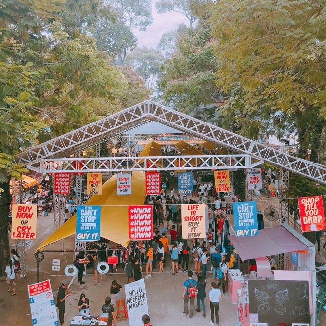 Top 8 Hội chợ cuối tuần đông khách nhất TPHCM