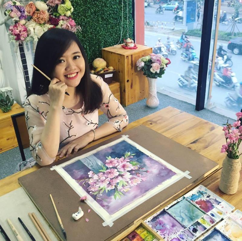 Top 6 Địa chỉ học vẽ màu nước tốt nhất tại Hà Nội