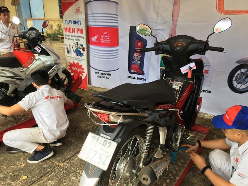 Top 4 Trung tâm bảo dưỡng xe máy Honda uy tín nhất Tp. Pleiku, Gia Lai