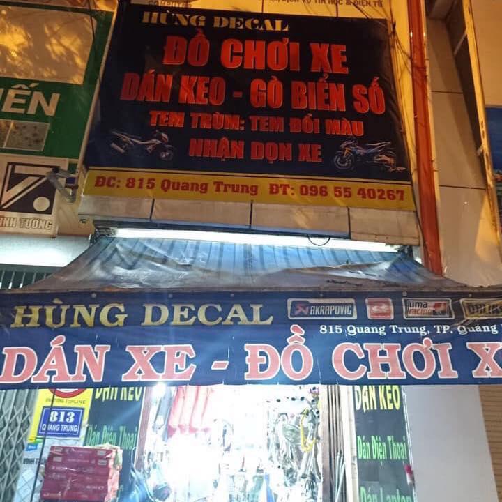 Top 3 địa chỉ dán decal xe máy uy tín tại Quảng Ngãi