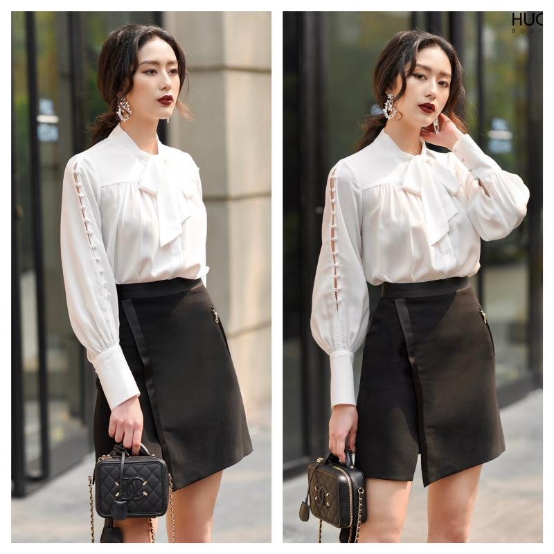 Top 9 Shop bán áo sơ mi trắng nữ TPHCM được chị em lựa chọn nhiều nhất