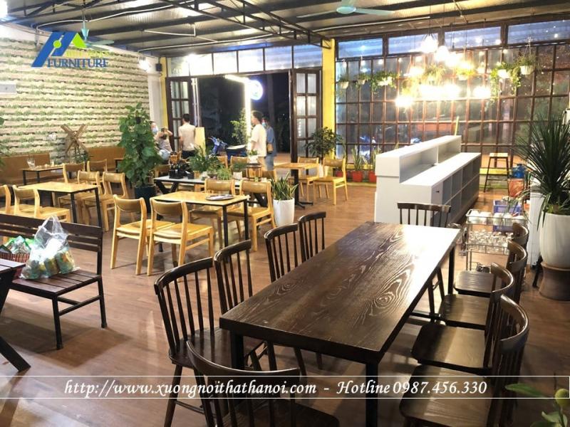 Top 6 Địa chỉ cung cấp bàn ghế cafe giá rẻ và uy tín ở Hà Nội