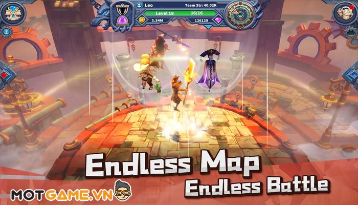 Endless World – Game mobile nhập vai nhàn rỗi có đồ họa 3D siêu đẹp