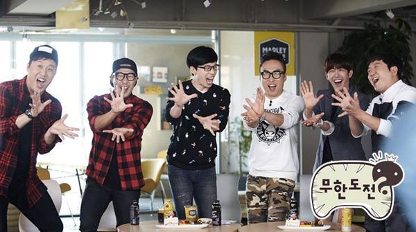 Top 10 Chương trình tạp kỹ được yêu thích nhất Hàn Quốc