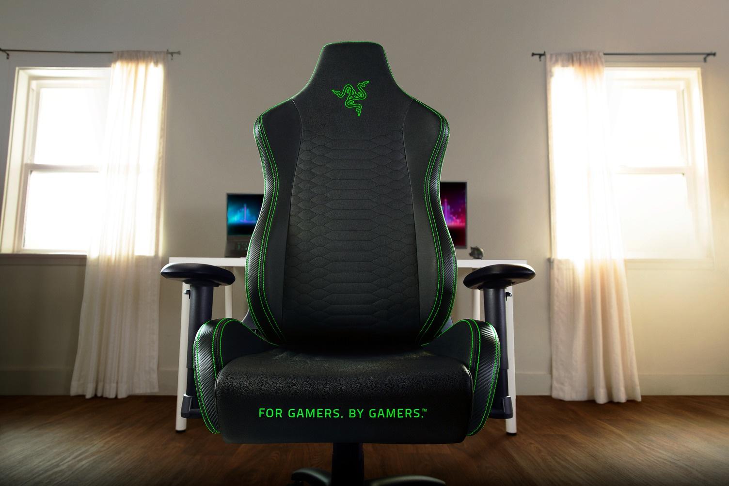 Razer ra mắt ghế Iskur X cho game thủ hạng nặng