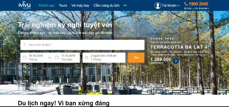 Top 10 Website đặt tour du lịch uy tín, chất lượng hàng đầu Việt Nam