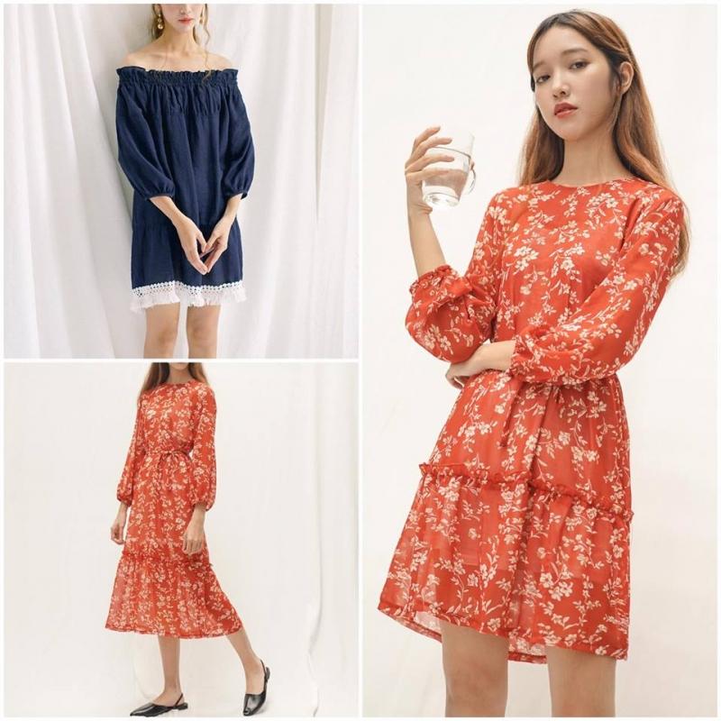 Top 11 Shop bán váy đầm phong cách nữ tính đẹp nhất ở TP.HCM