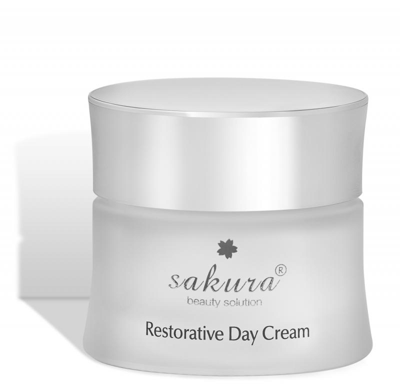 Kem chống lão hóa da ban ngày Sakura Restorative Day Cream