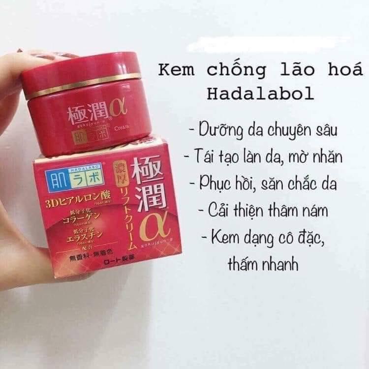 Kem chống lão hoá Hada Labo Pro Anti Aging Collagen Plus Cream