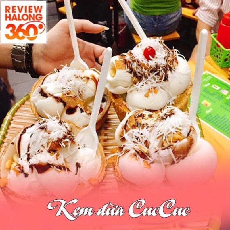 Top 4 địa chỉ bán kem dừa ngon và chất lượng nhất TP Hạ Long, tỉnh Quảng Ninh