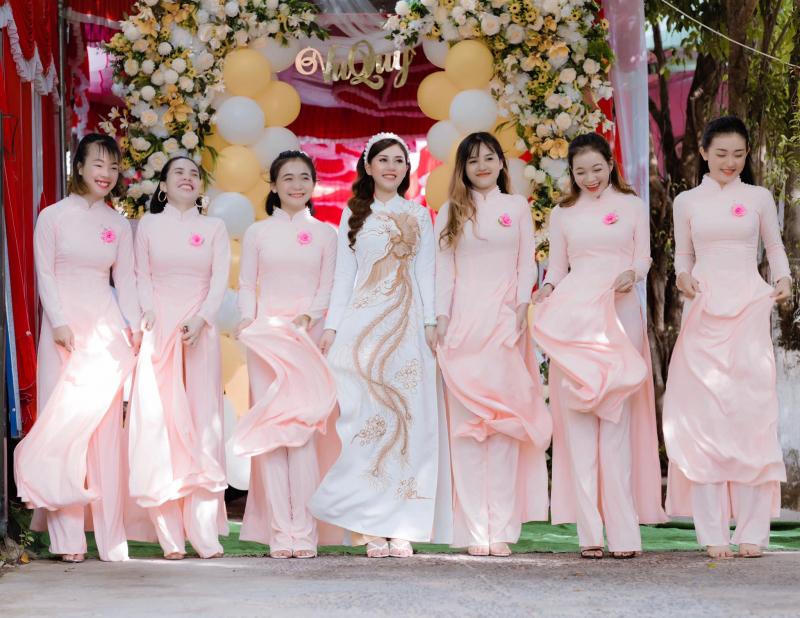 Top 6 Địa chỉ thuê áo dài cưới hỏi đẹp nhất TP. Tuy Hòa, Phú Yên