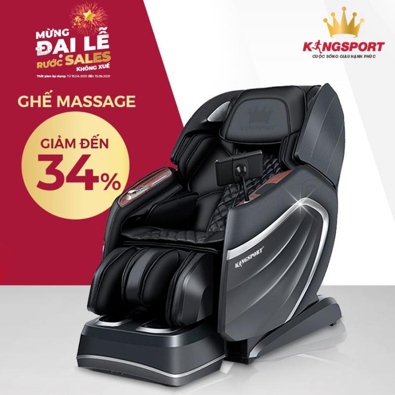 Top 5 Địa chỉ bán ghế massage toàn thân uy tín, giá tốt hàng đầu tại TP. HCM