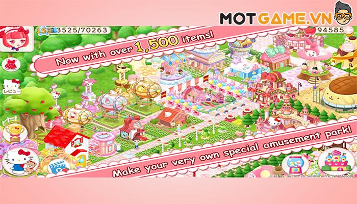 Thử thách tài quản lý cùng Hello Kitty: Công Viên Huyền Ảo