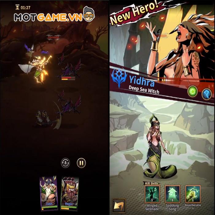 Infinity Legends – Lạc lối trong thế giới game đấu tướng màn hình dọc đỉnh cao