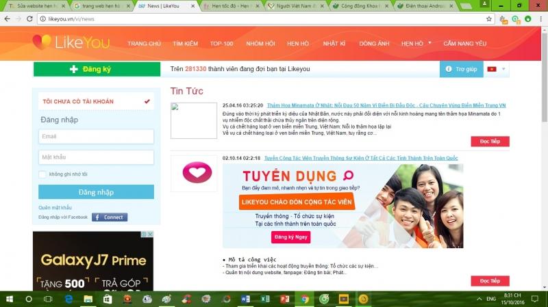 Top 8 Website hẹn hò nổi tiếng nhất Việt Nam