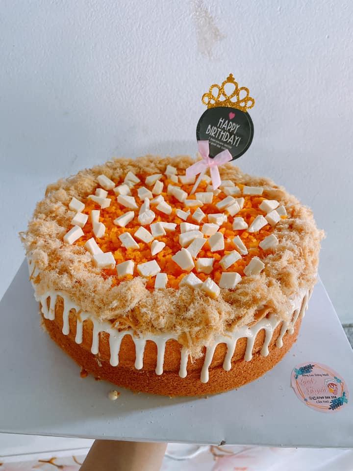 Top 9 Địa chỉ nhận làm bánh sinh nhật bông lan trứng muối được yêu thích nhất tại Cần Thơ.