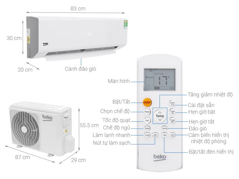 Top 10 điều hòa, máy lạnh với mức giá dưới 10 triệu đồng
