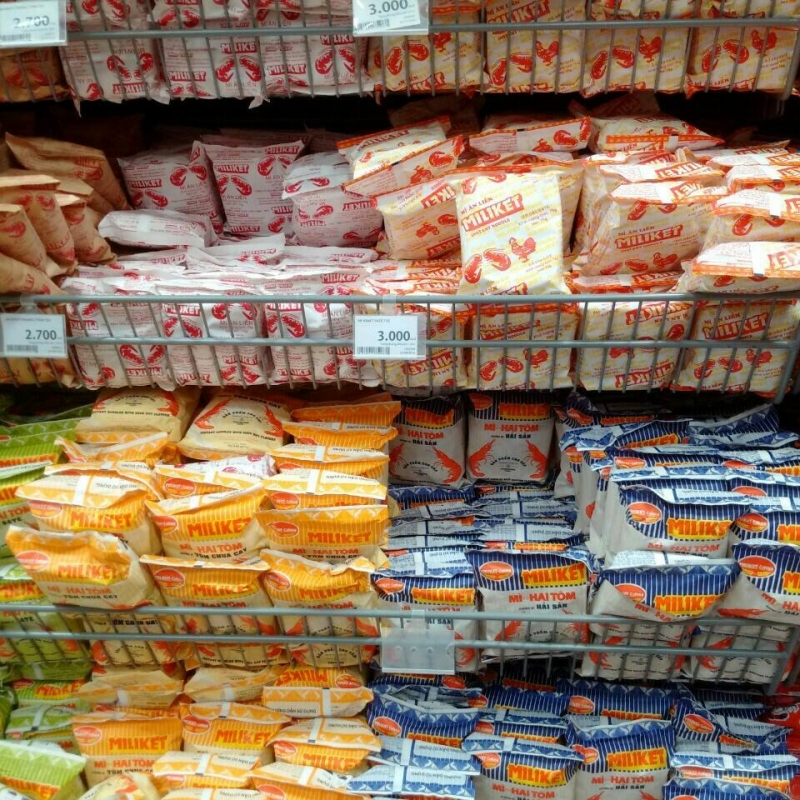 Top 10 Thương hiệu mì ăn liền được ưa chuộng nhất Việt Nam