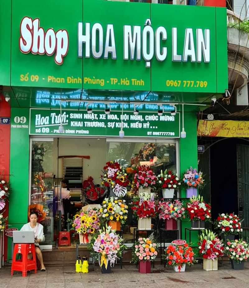 Top 5 Cửa hàng hoa tươi nổi tiếng nhất Thành phố Hà Tĩnh