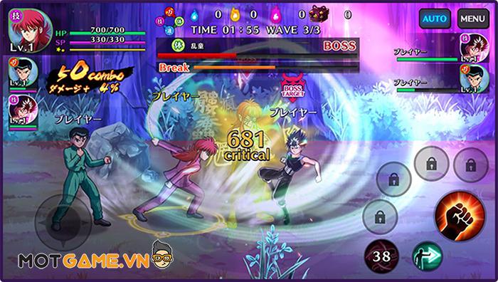 Gặp lại Urameshi Yusuke trong tựa game hành động đối kháng Yu Yu Hakusho GENKAI Battle