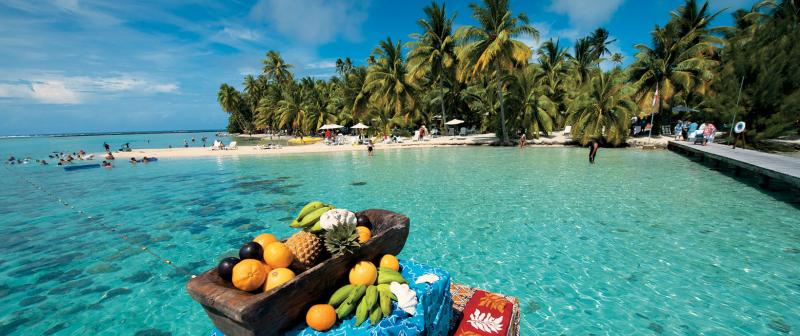 Motu Mahana, French Polynesia