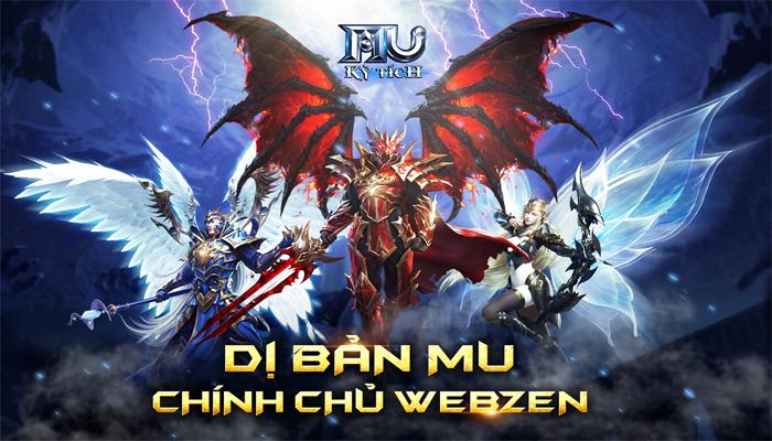 MU Kỳ Tích – Dị bản MU chuẩn Webzen chính thức cập bến Việt Nam