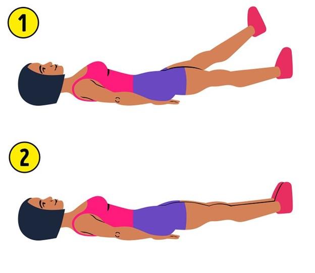Top 7 Bài tập 5 phút giúp đánh tan mỡ bụng hiệu quả