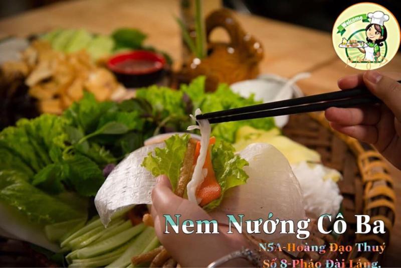 Top 10 Quán nem nướng Nha Trang ngon nhất quận Đống Đa, Hà Nội