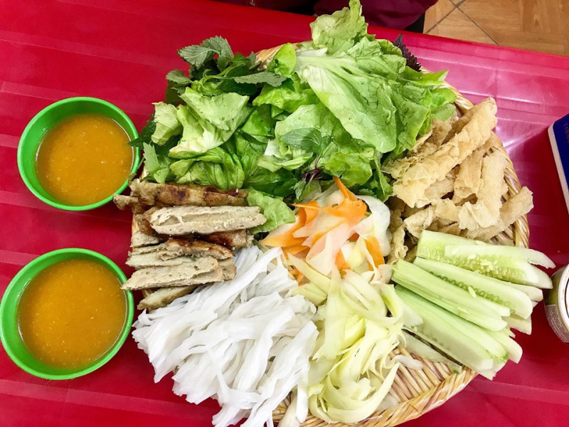Top 10 Quán nem nướng Nha Trang ngon nhất ở Hà Nội
