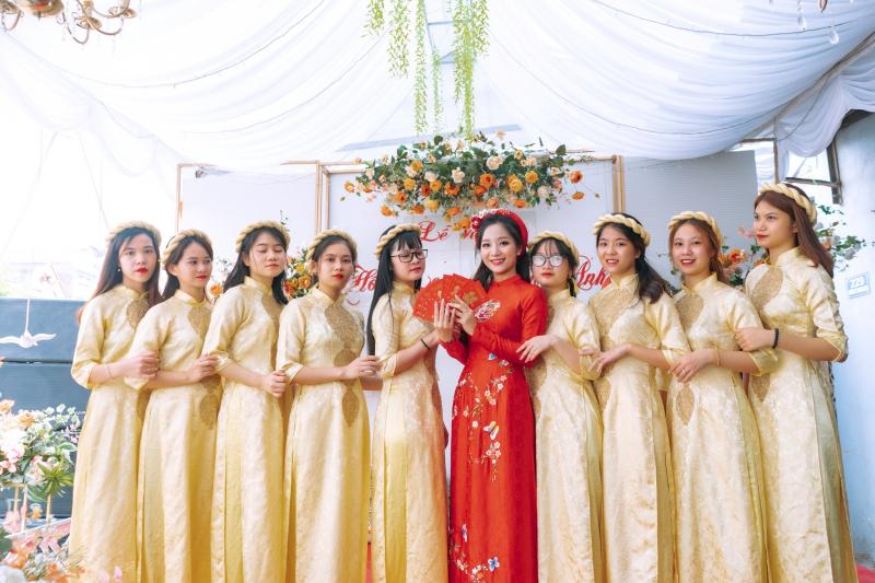Top 9 Địa chỉ thuê áo dài cưới hỏi đẹp nhất Hải Dương