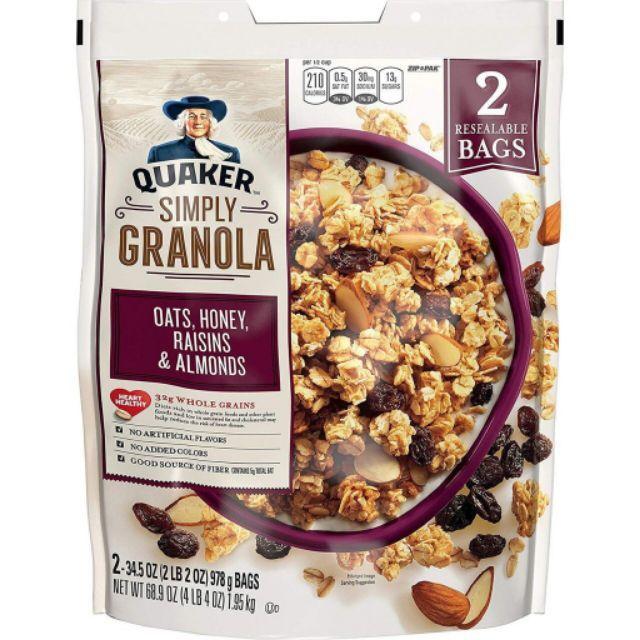 Top 5 Ngũ cốc Granola ngon và chất lượng nhất hiện nay