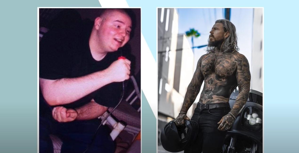 Chàng trai trở thành người mẫu sau khi giảm 81 kg