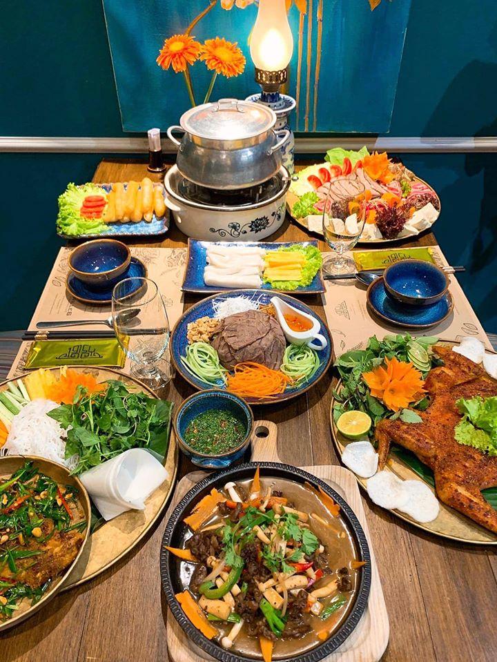 Những món ăn đặc sắc của nhà hàng