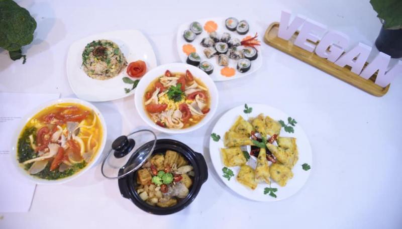Top 9 Nhà hàng buffet ăn chay nổi tiếng tại Hà Nội