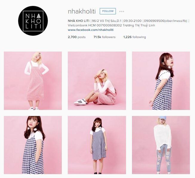 Top 15 Shop bán hàng online  nổi tiếng nhất trên Instagram