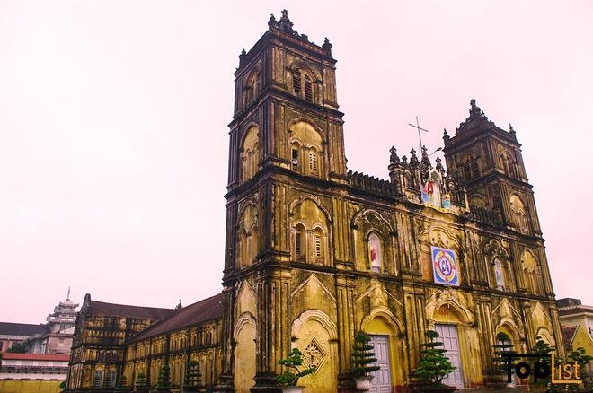 Top 10 Nhà thờ đẹp nhất ở Nam Định