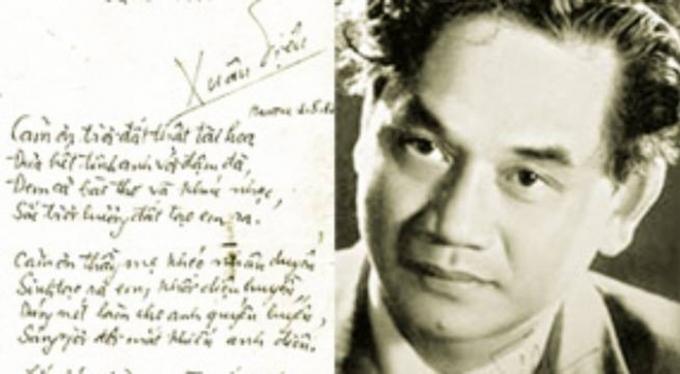 Top 15 Nhà thơ nổi tiếng nhất trong phong trào Thơ Mới Việt Nam