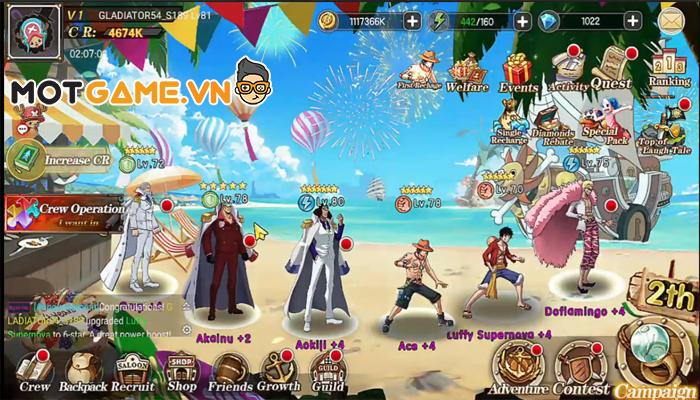 Hành trình phiêu lưu cùng với Luffy tại Ocean Conflict: Royal War