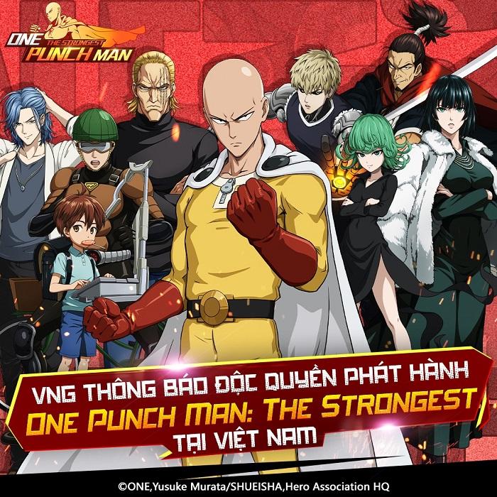 One Punch Man: The Strongest cho game thủ đăng ký tải trước