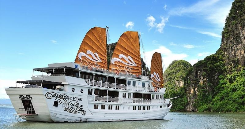 Top 10 Du thuyền tốt nhất trên vịnh Hạ Long