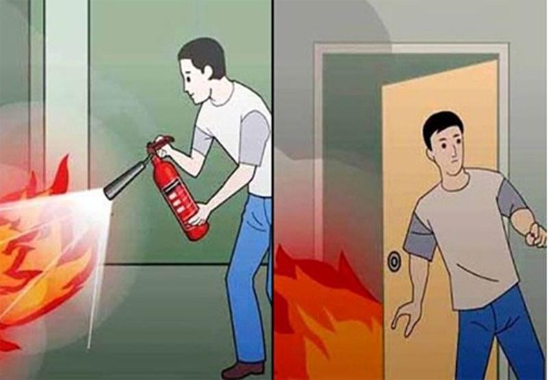 Top 10 Kỹ năng thoát hiểm khi xảy ra hỏa hoạn