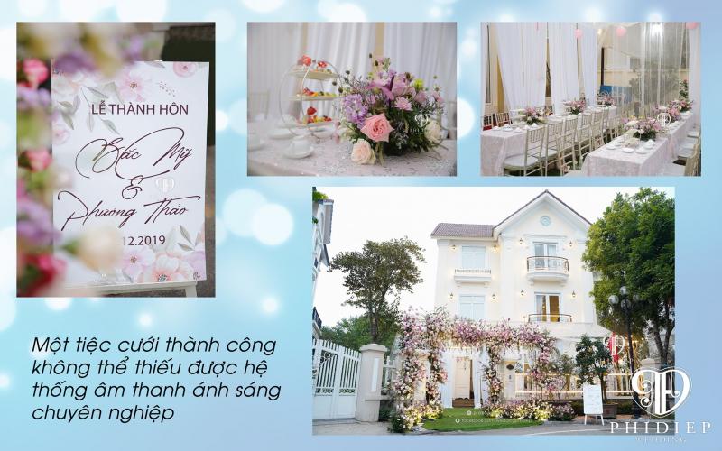 Top 8 Dịch vụ trang trí tiệc ngoài trời đẹp và uy tín nhất tại Hà Nội