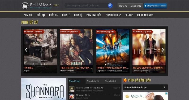 Top 10 Trang web xem phim HD tốt nhất hiện nay