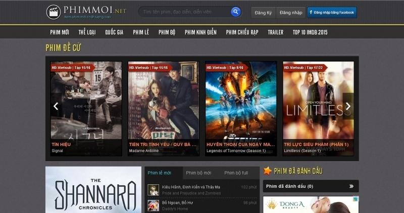 Top 5 Trang web tải phim miễn chất lượng nhất