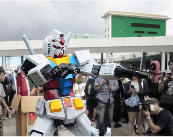 Xuất hiện bộ giáp mô phỏng Gundam phiên bản đời thực, người thường có thể mặc vào là hóa robot như trong phim
